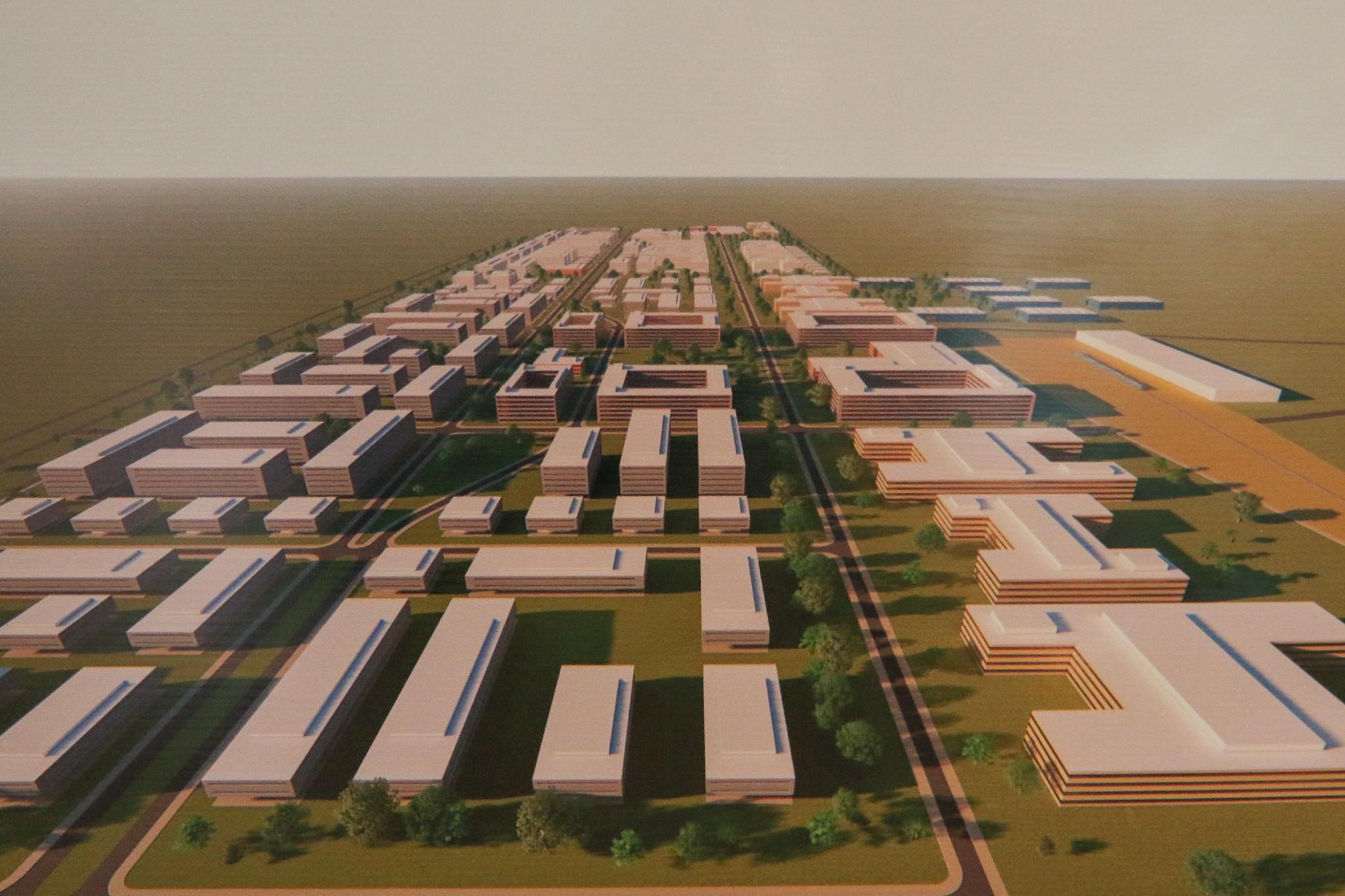 novo bairro residencial de Brasília