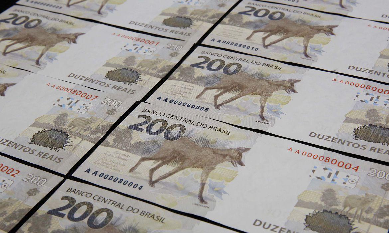 Nota de R$ 200 reais