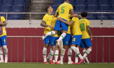 Brasil e Egito Olimpíadas